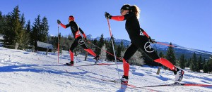 Фото - Лыжники на лыжах и в экипировке Rossignol