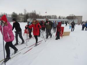 Ajnj - Рыбинская лыжня 2015, соревнования