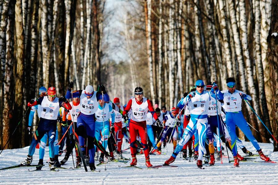 Фото - Лыжный марафон в Москве Vestabank SkiGrom 50k