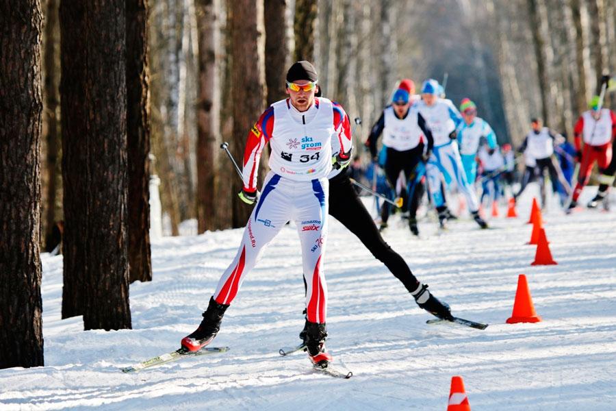 Фото - Тимофеев Д. Лыжный марафон в Москве Vestabank SkiGrom 50k