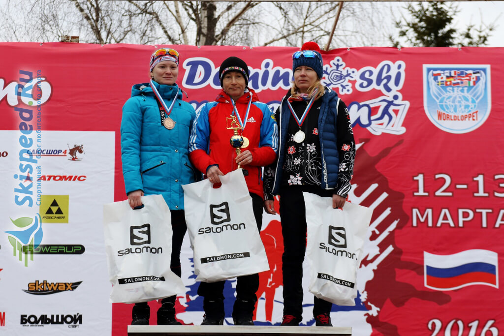 Фото - Ефимова Алёна, Деминский лыжный марафон 2016