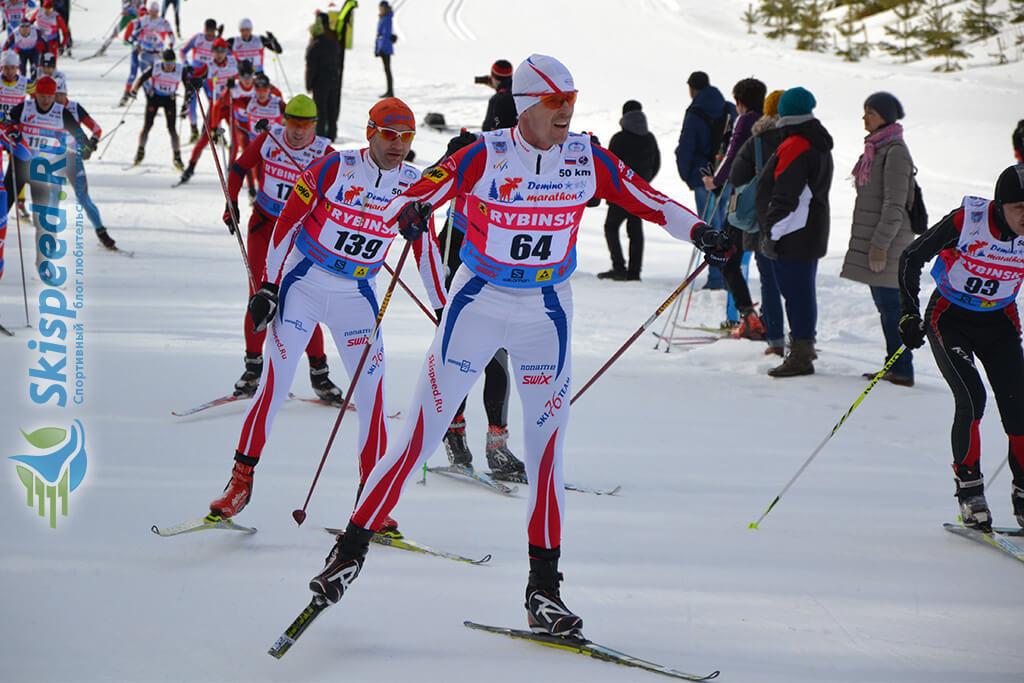 Фото - Копытов Сергей, Деминский лыжный марафон 2016