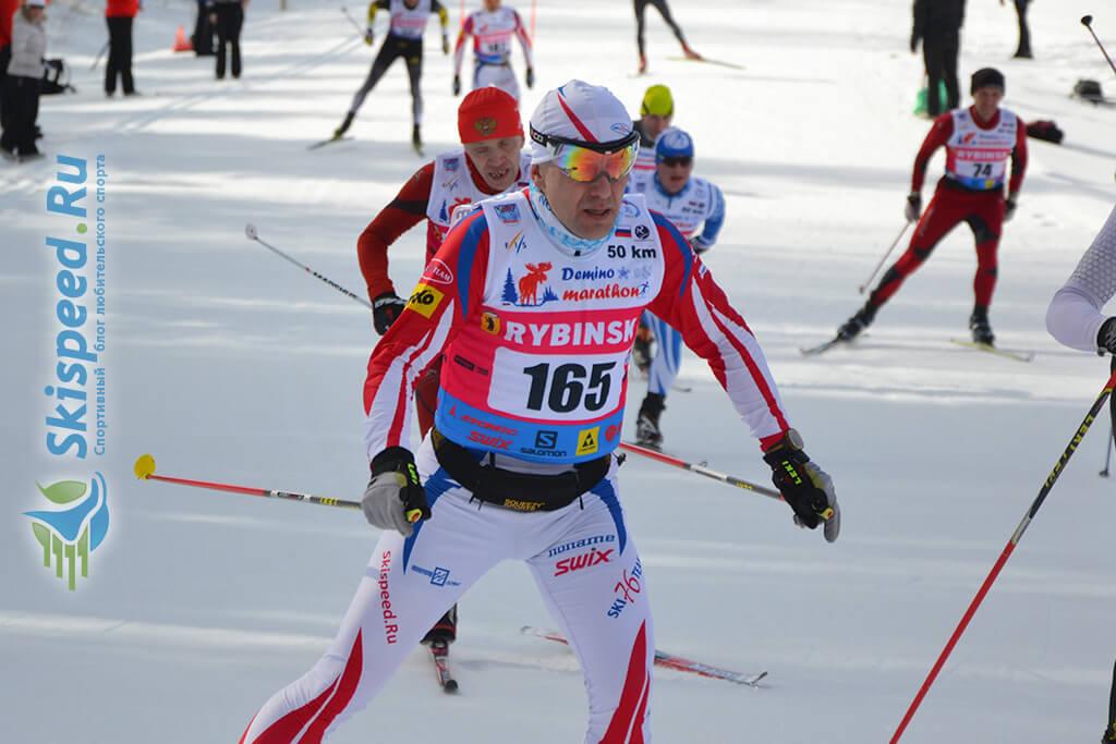 Фото - Соболев Алексей, Деминский лыжный марафон 2016