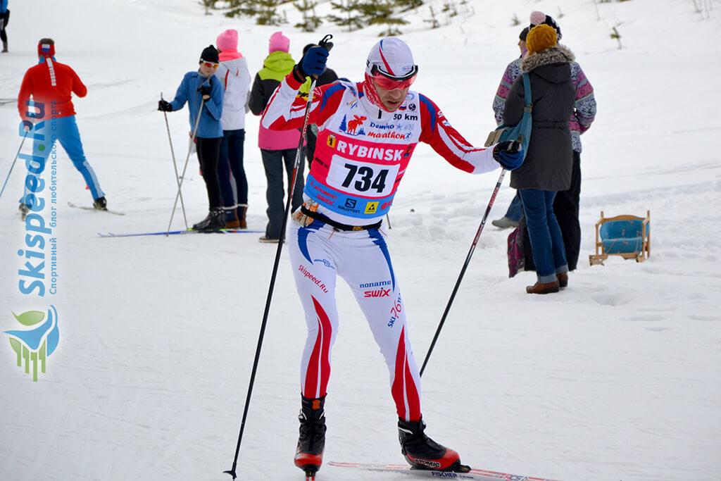 Фото - Городнов Денис, Деминский лыжный марафон 2016