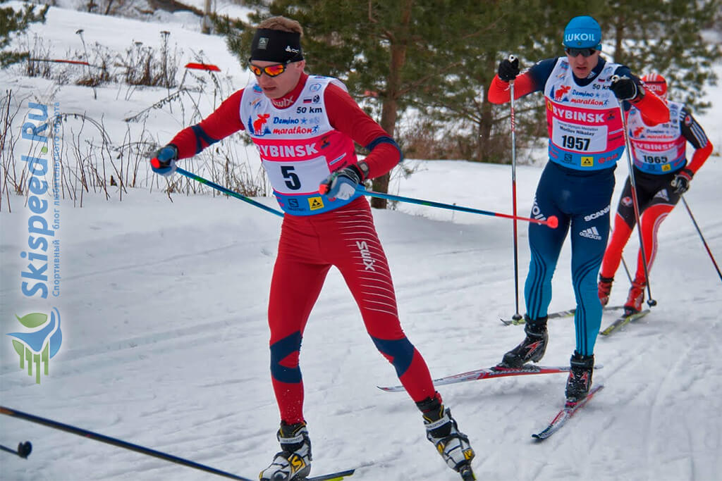 Фото - Виноградов Юрий, Деминский лыжный марафон 2016
