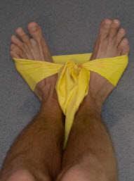 Фотография - Упражнения с резиновой лентой для стопы ног