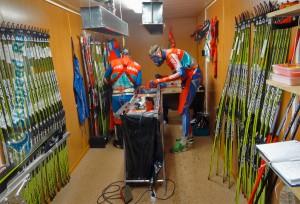 Фото - Подготовка беговых лыж на Дёминский марафон 2016 от Sport Nordic