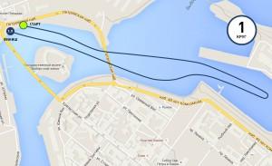 Карта-схема - Плавание. Выборгмэн 2016