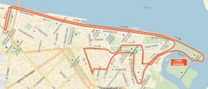 Фото карты - 10 км. Ярославский полумарафон 2016