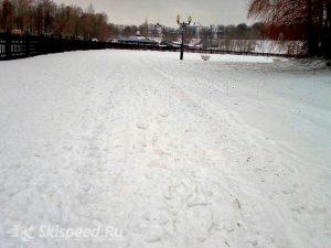 Фото - Лыжная трасса на Волжской набережной Ярославля