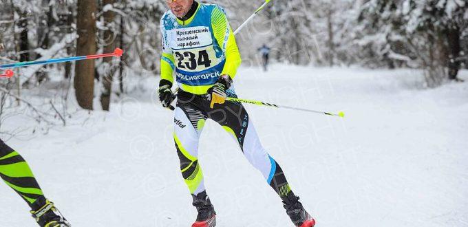 Фото Башурин Валерий - III-го Крещенского лыжного марафона 2017, посвященного празднику «Крещение Господне»