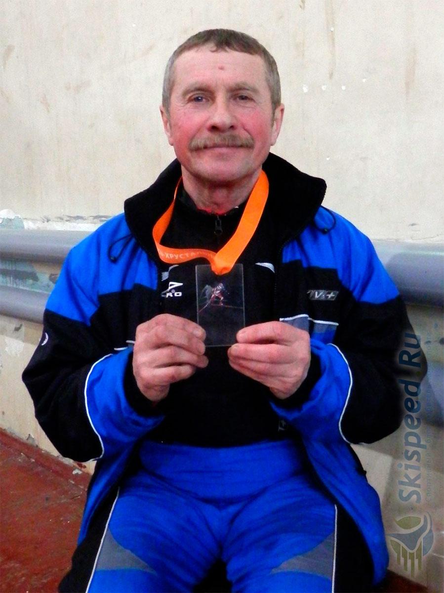 Фото медали - Команда Нерехты на лыжном марафоне в городе Гусь-Хрустальный