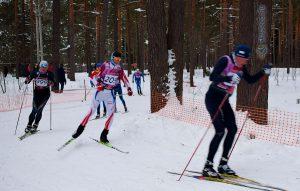 Фото - Тимофеев Дмитрий на Честном лыжном марафоне друзей 2017