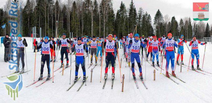 Фото спортсменов - Лыжный марафон Вологодской области Комела 2017