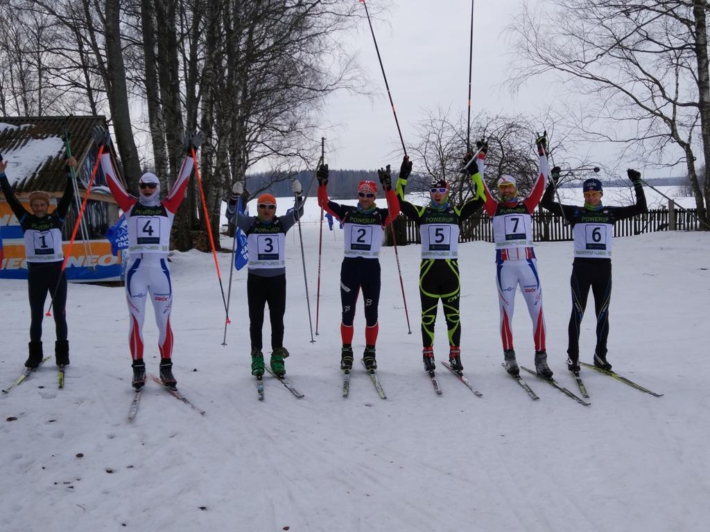 Суточная лыжная гонка 24 часа POWERUP в Неверово, Костромской области