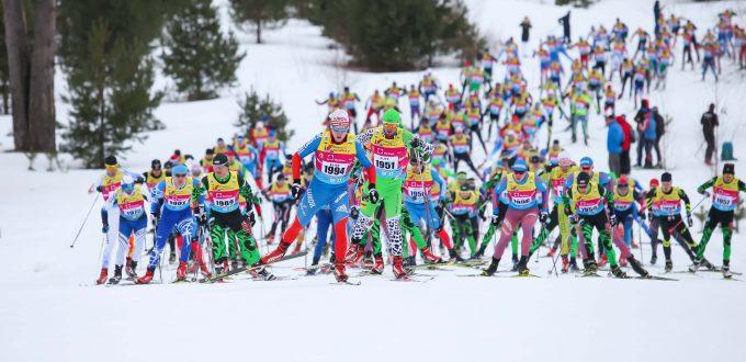 Фото - Деминский лыжный марафон 2017, Хабаров Никита