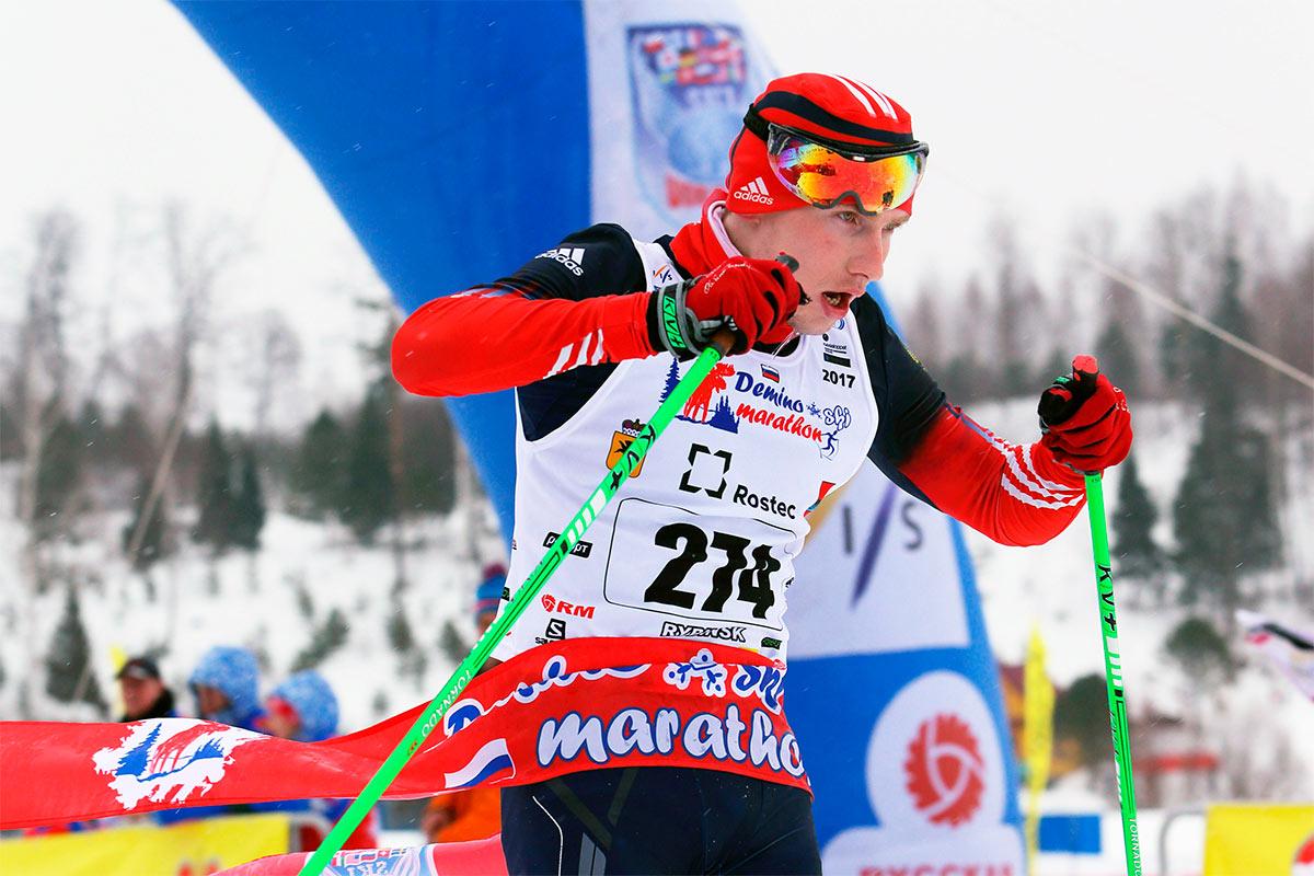 Фото - Деминский лыжный марафон 2017, Артамонов Сергей
