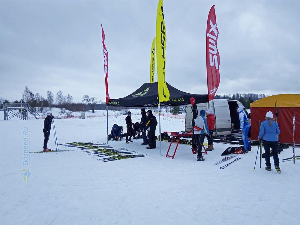 Фото - Тестирование беговых лыж на Деминском лыжном марафоне 2017, Рыбинск