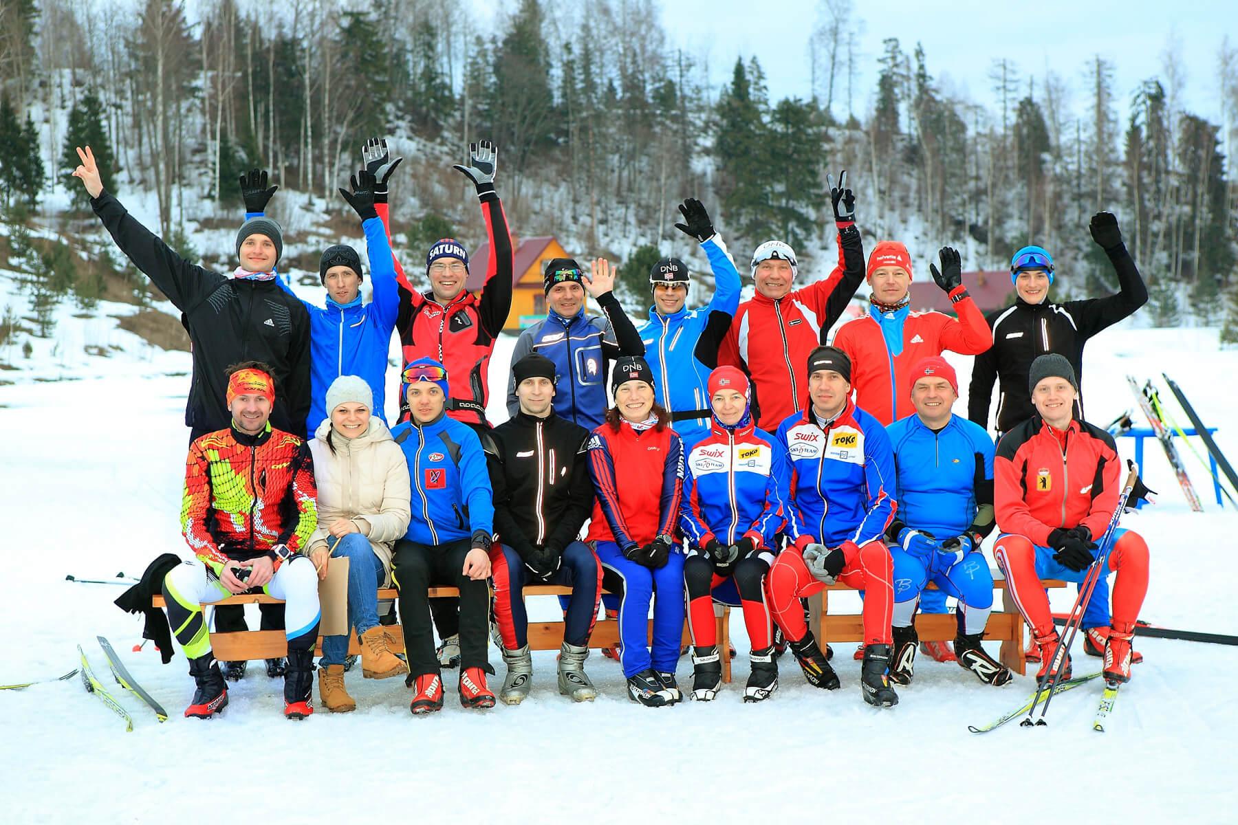 Фото спортсменов - Весенняя лыжная эстафета 2017 в Демино, Рыбинск