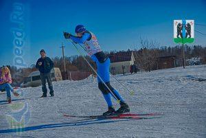 Фото лыжника - Лыжные гонки в пос. Михайловский, Ярославского района