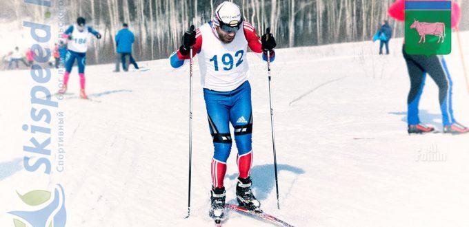 Фото лыжника - Ерохин Алексей, Волгореченск. Лыжные гонки в Чижово