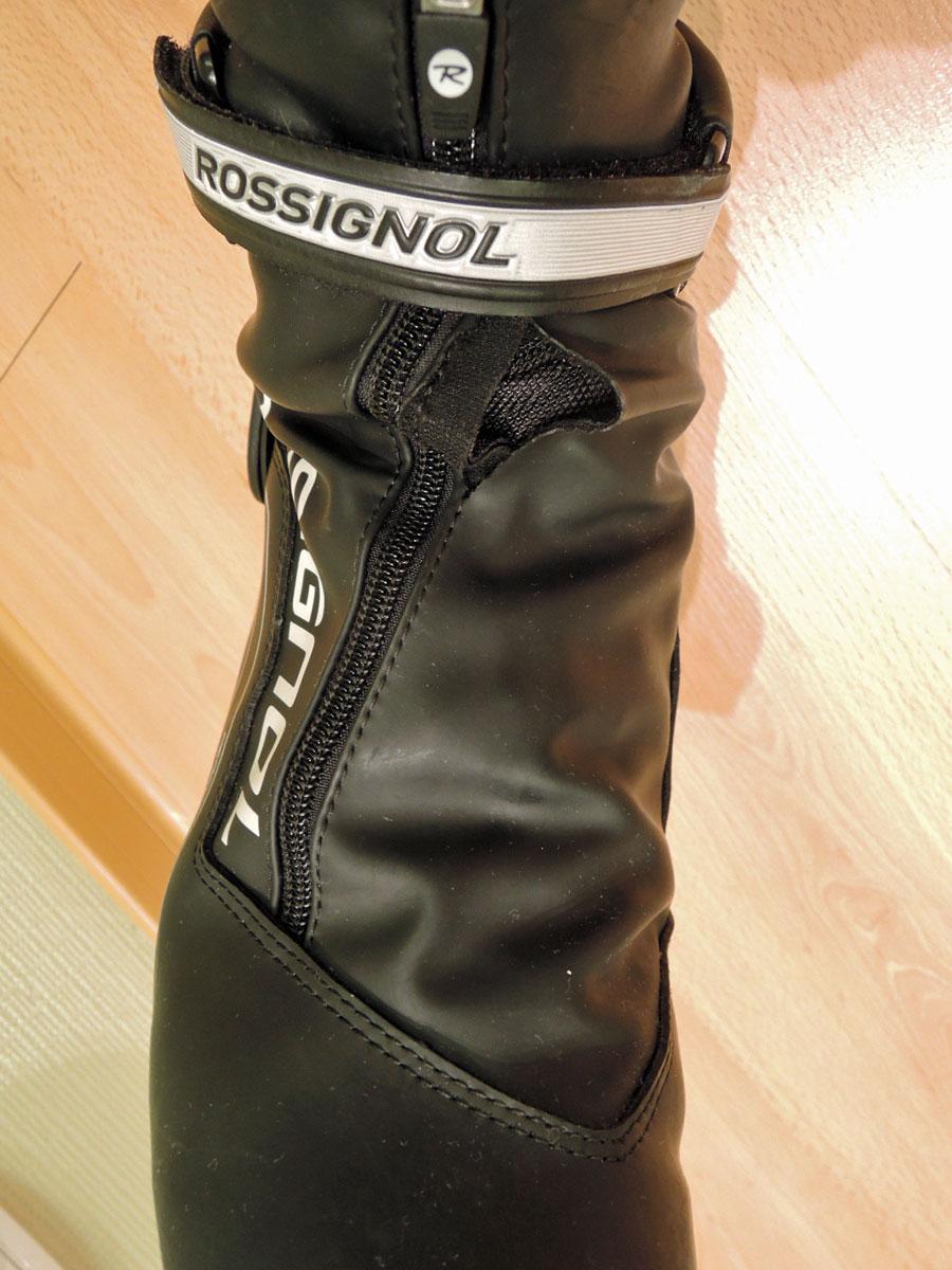 Фото спортивной обуви - Лыжный ботинок Rossignol разорванный (ремонт)