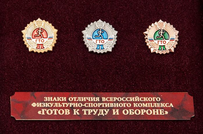 Фото награды - Знак отличия Готов к труду и обороне (ГТО)