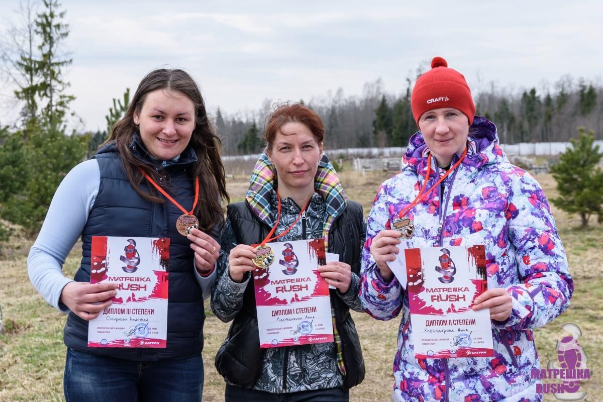 Фото победителей - Мультигонка по пересечённой местности Рыбинского р-на — МатрёшкаRUSH 2017