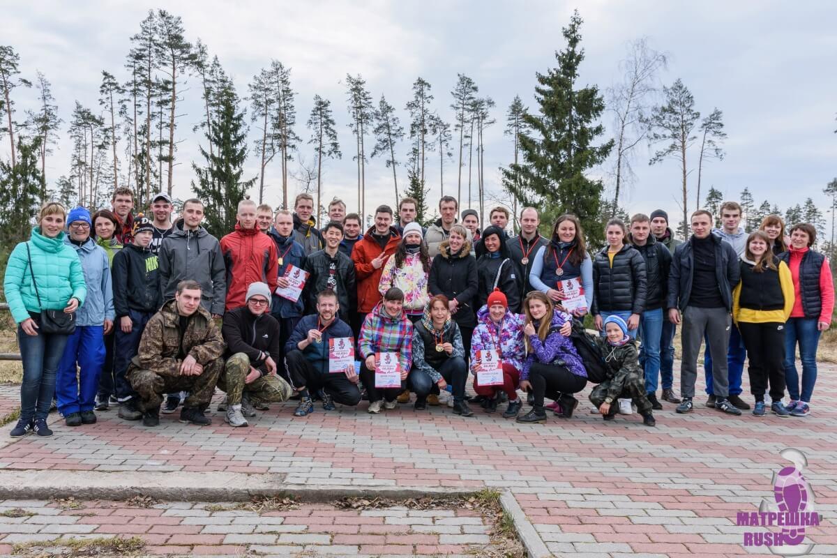 Фото участников - Мультигонка по пересечённой местности Рыбинского р-на — МатрёшкаRUSH 2017