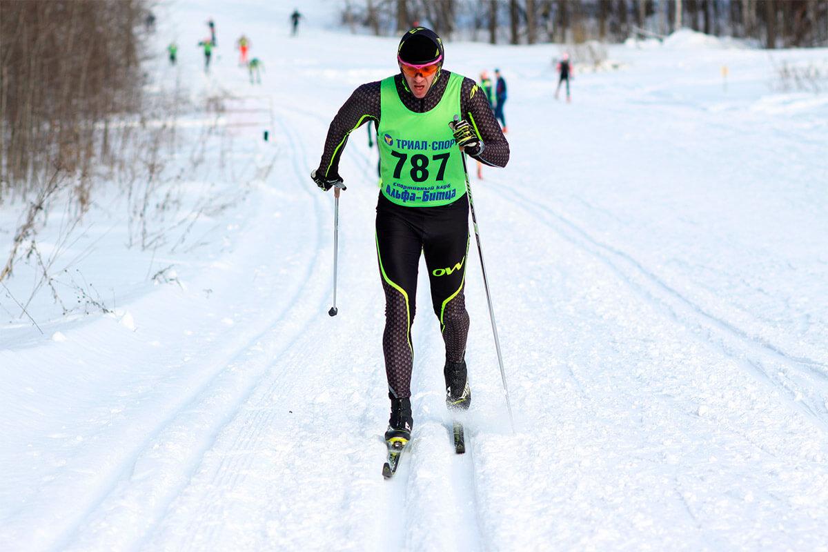 Фото спортсмена - Сергей Свиридов на лыжной гонке в Битце
