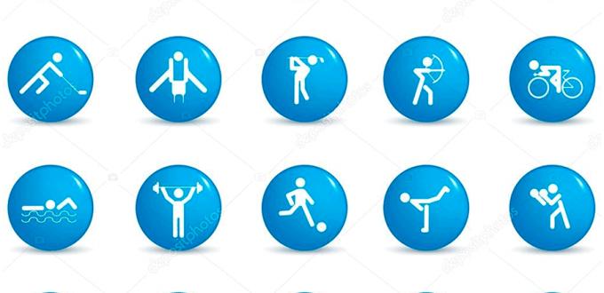 Фото картинок - Виды спорта. Иконки