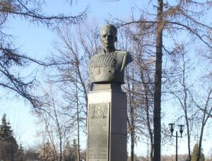 Фото Памятника генералу Батову в Рыбинске