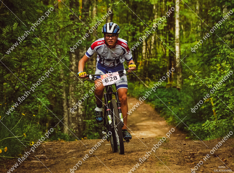 Фото спортсмена на веломарафоне - Подобедов Максим, СК SKI 76 TEAM Ярославль