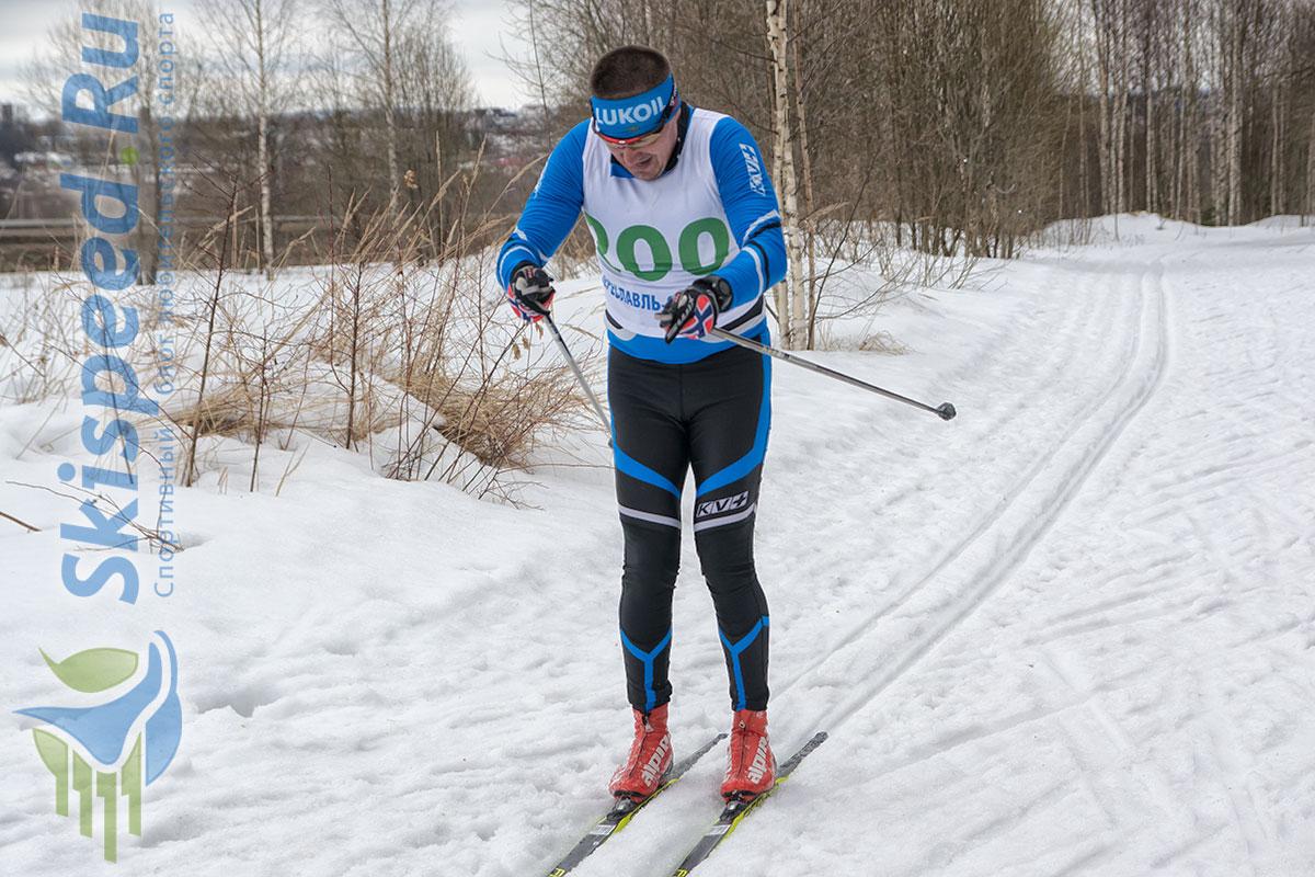 Фото лыжника на лыжне - Владимир Пантелеев, Переславль-Залесский
