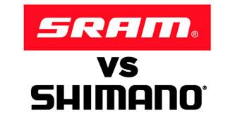 Фото логотипов shimano sram