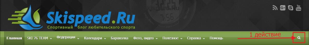 Фото скрина - Поиск по блогу skispeed.ru