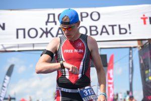 Фото триатлониста из Ярославля - Муравьев Евгений, TITAN 113 Зарайск 2017
