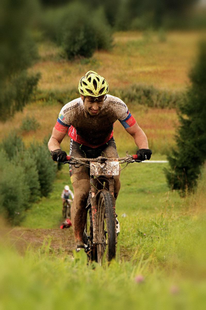 Фото велогонщика - Максим Гоголев на Деминском веломарафоне 2017