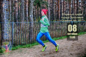 Фото спортсмена - Открытый пробег города Ярославля Осенний лес 2017