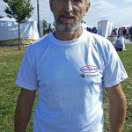 Фото ярославского спортсмена Николай Качалова - Футболка с логотипом SKI 76 TEAM и Skispeed.Ru