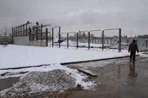 Фото стартового стадиона - Строительстве биатлонного стрельбища в Демино, Рыбинск