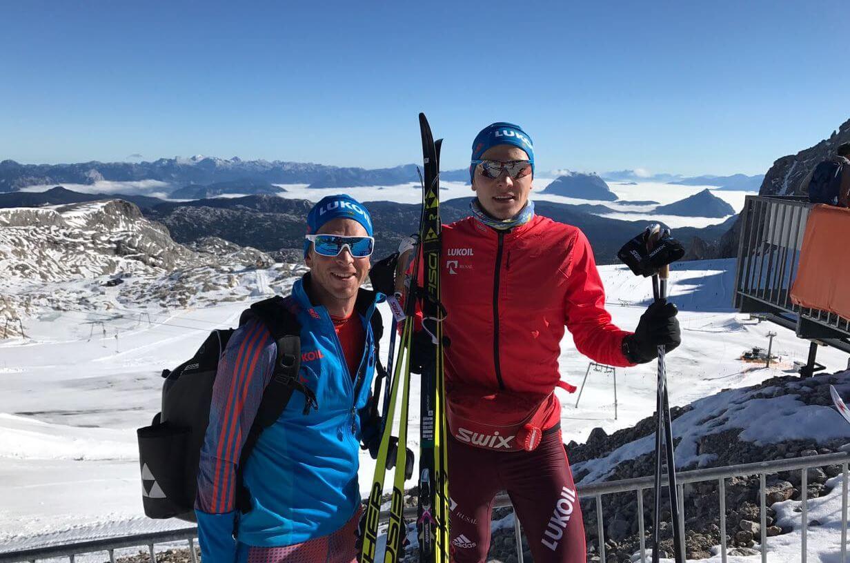 Фото спортсменов лыжников - Экипировка сборной России по лыжным гонкам 2017-18