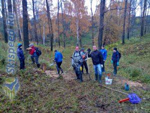 Фото природы - Субботник на тренировочной трассе в пос. Норское (октябрь 2017)