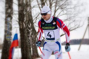 Фото лыжника - Лыжные гонки. Неверово. Костромская область