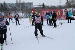Фото любителей - Рыбинцы сдают нормативы ГТО в лыжных гонках