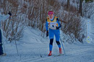 Фото лыжницы - Лыжные гонки в Демино, Рыбинск, Ярославская обл.
