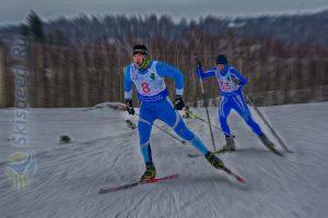 Фото лыжников спортсменов - Лыжные гонки - Дмитриановские холмы