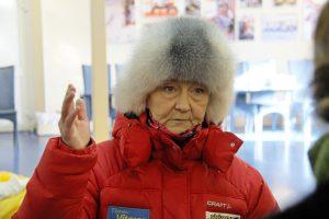 Фото директора СШОР 4 г. Рыбинска Емелина С. В. - Демино готово к проведению Деминского лыжного марафона 2018
