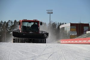 Фото спорт центра - Демино готово к проведению Деминского лыжного марафона 2018
