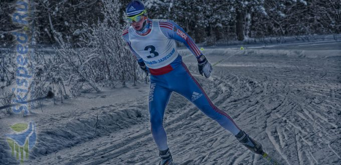 Фото лыжника - Евдокимов Алексей. Лыжная гонка в Переславле-Залесском